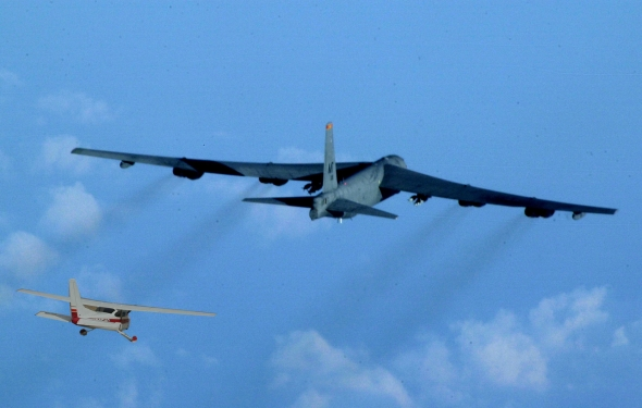 Jet Bomber Airplanes B-52 Stratofortress Combo