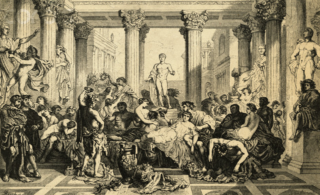 rome orgy Death and the Dolce Vita: the Dark Side of Rome in the 1950s by.