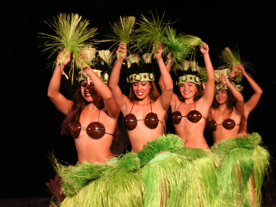Naked ass nude photos of women hula dancers